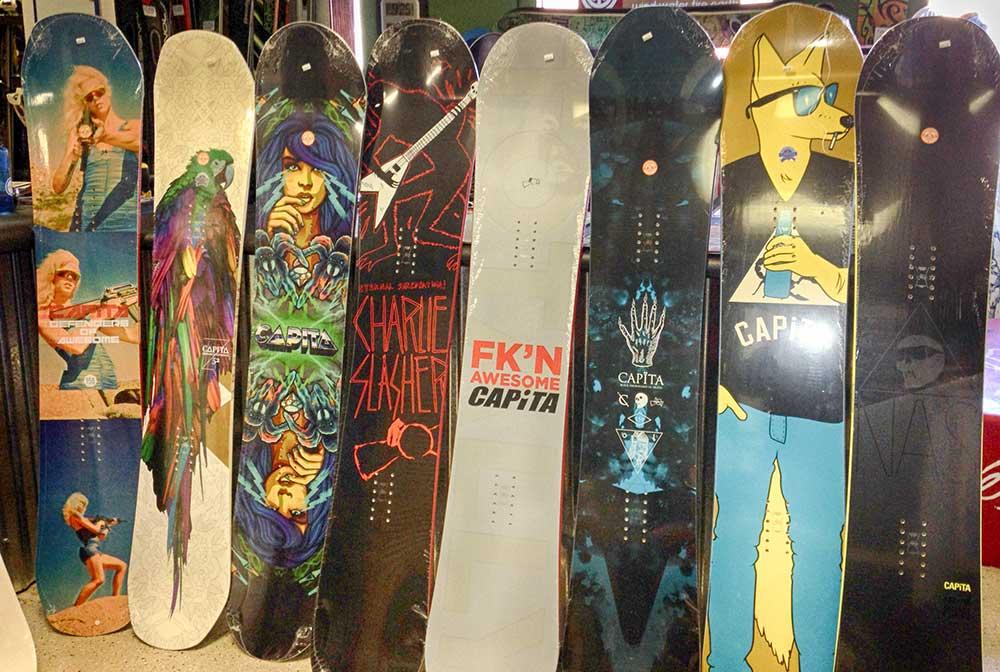 Ski Tunes and Snowboard Tunes